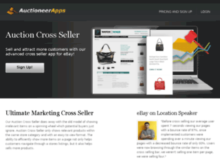 auctioneerapps.com screenshot