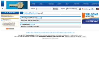 auctionsward.com screenshot