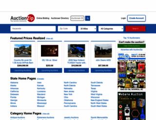 auctionzip.com screenshot
