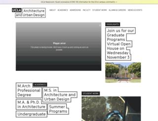 aud.ucla.edu screenshot