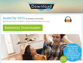 audacity.download-2015.de screenshot