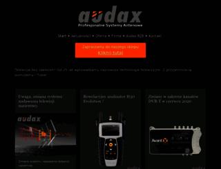 audax.net.pl screenshot
