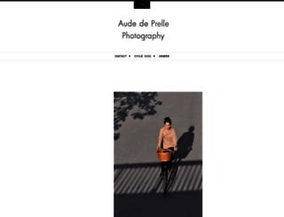 audedeprelle.com screenshot