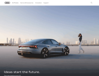 audi.co.th screenshot