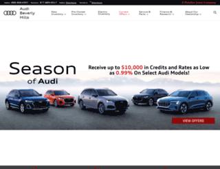 audibeverlyhills.com screenshot