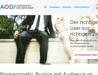audience-on-demand.de screenshot