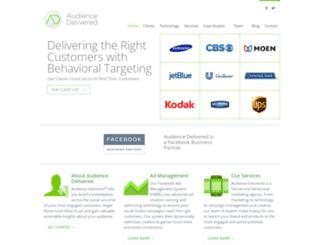 audiencedelivered.com screenshot