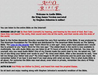 audio-bible.com screenshot