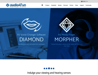 audio4fun.com screenshot