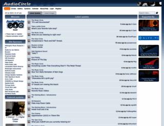 audiocircle.com screenshot