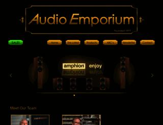 audioemporium.com screenshot