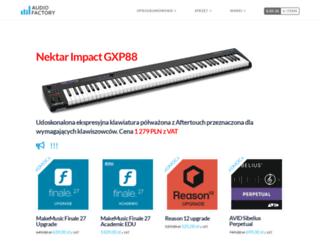 audiofactory.pl screenshot