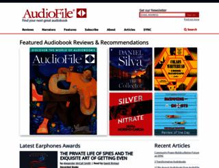 audiofilemagazine.com screenshot