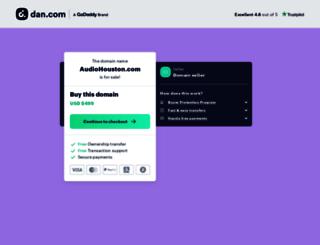 audiohouston.com screenshot