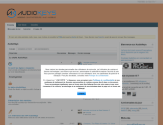 audiokeys.net screenshot