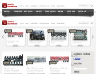 audiorakitan.web.id screenshot