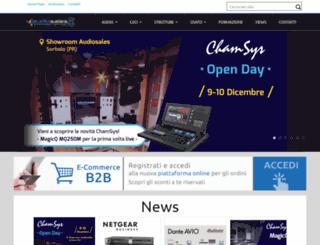 audiosales.it screenshot