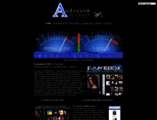 audiosoft.net screenshot