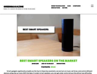 audiospeakerguide.com screenshot