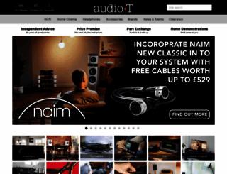 audiot.co.uk screenshot