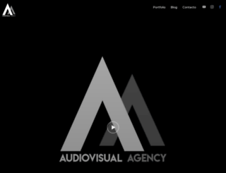 audiovisualagency.com screenshot