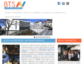 audiovisuel-cassin.com screenshot