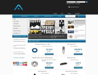 audioware.fr screenshot
