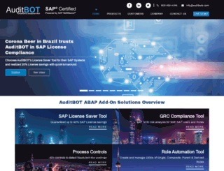 auditbots.com screenshot