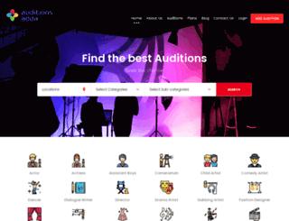 auditionsadda.com screenshot