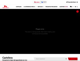 auditorio.com.mx screenshot