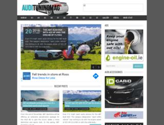 audituningmag.com screenshot