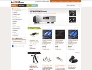 audiyo.com screenshot