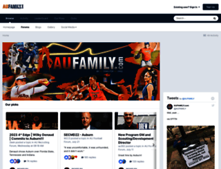 aufamily.com screenshot