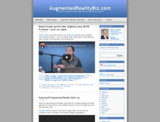 augmentedrealitybiz.com screenshot