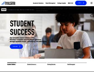 augustana.bncollege.com screenshot