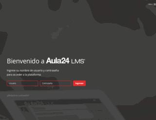 aula24horas.com screenshot