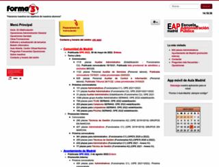aulamadrid.com screenshot