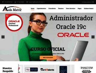 aulamatriz.edu.co screenshot