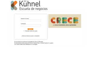 aulavirtual.kuhnel.es screenshot