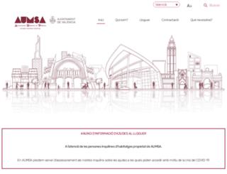 aumsa.es screenshot