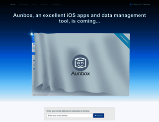 aunbox.com screenshot