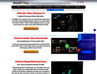 aura4you.com screenshot