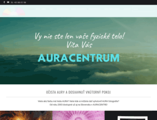 auracentrum.sk screenshot