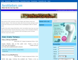 auraiklanbaris.com screenshot