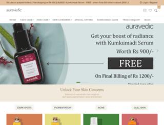 auravedic.com screenshot