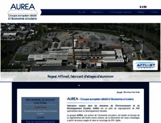aurea-france.com screenshot