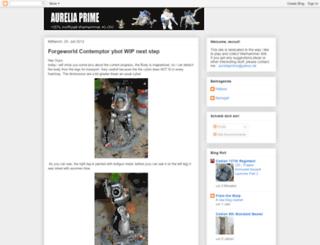 aureliaprime.blogspot.com screenshot