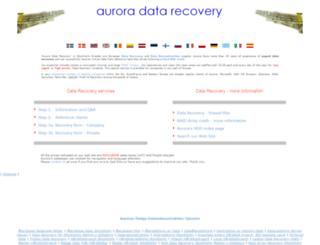 aurora-lcd.dk screenshot