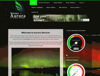 aurora-service.net screenshot