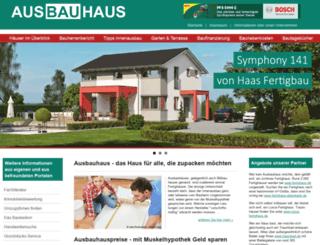 ausbauhaus.de screenshot